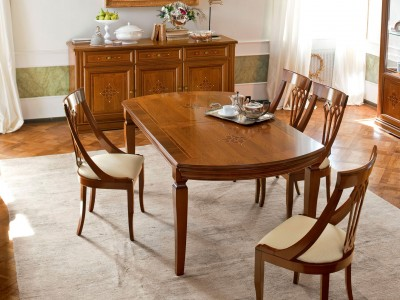 Классическая столовая Caruso